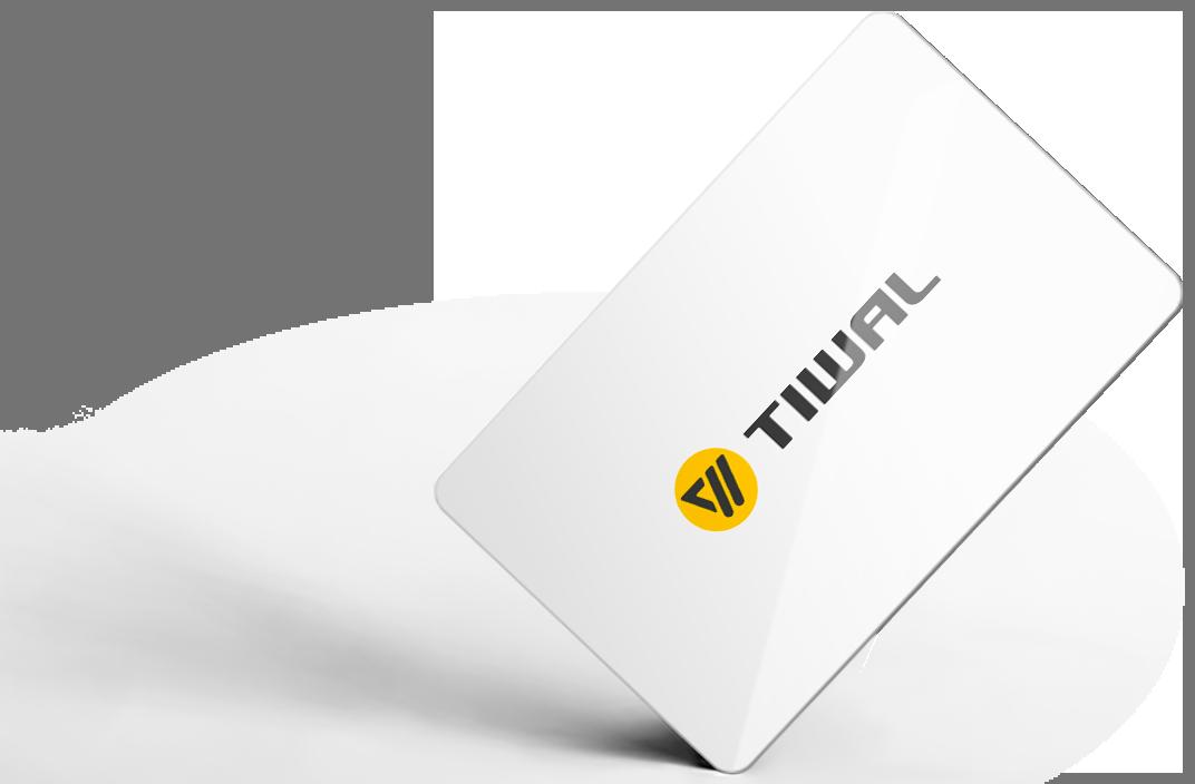 Carte de crédit Tiwal