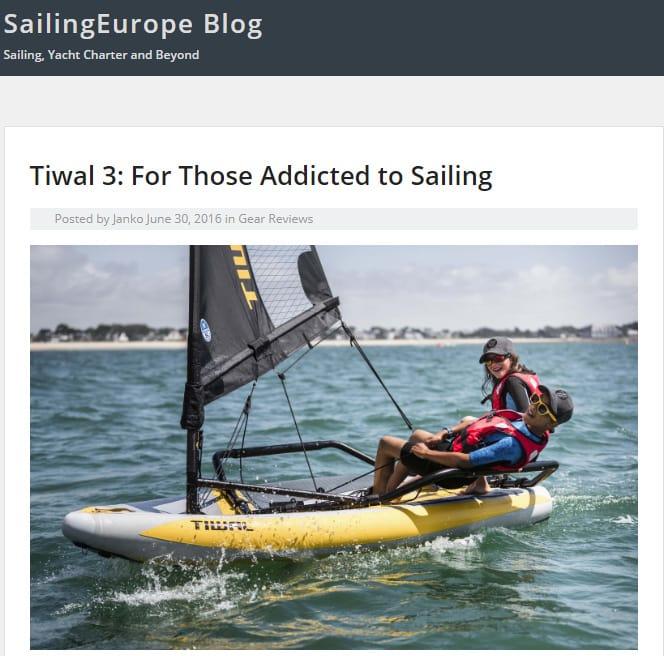 Tiwal 3 on Sailing Europe