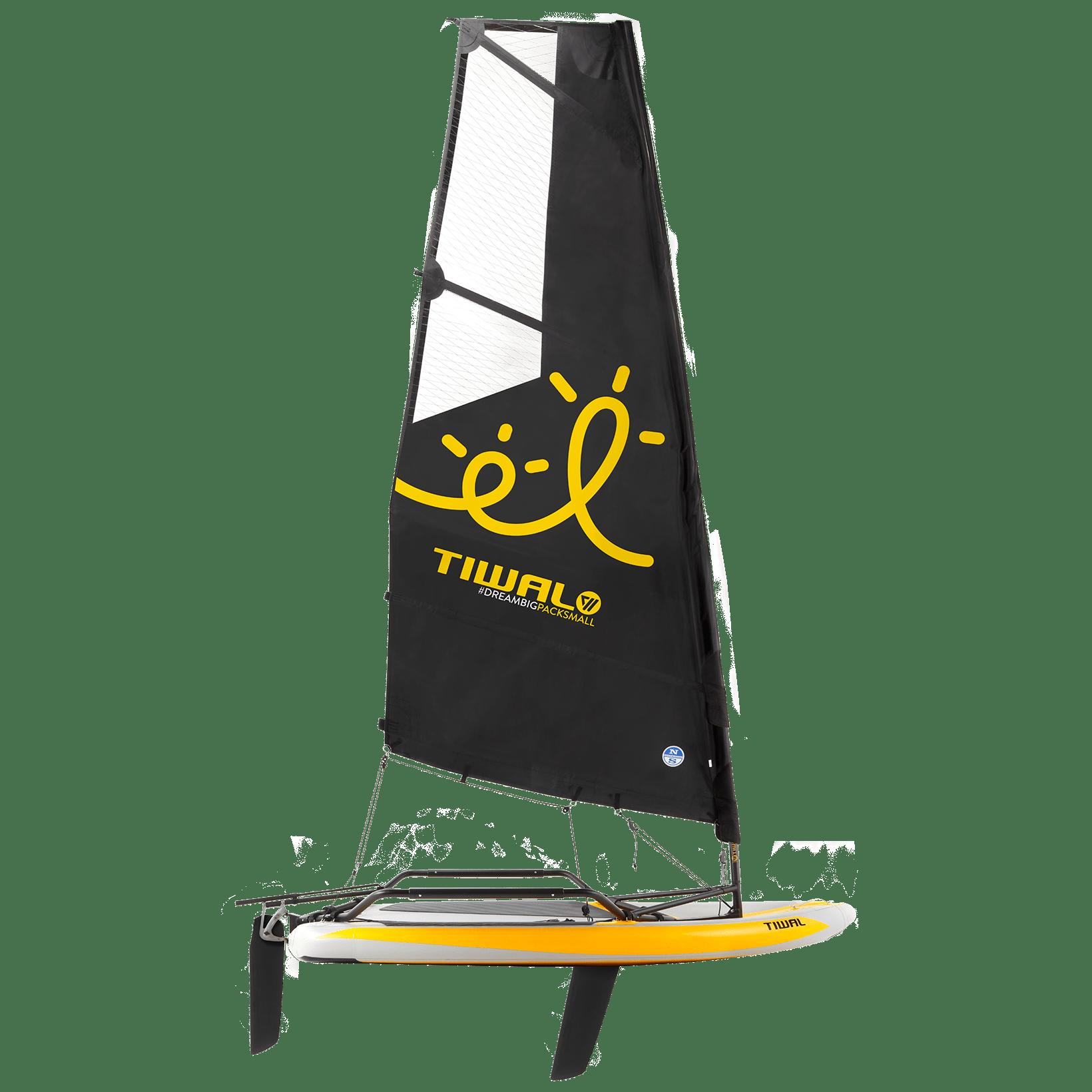 Tiwal3 Sailboat with Reefable Sail