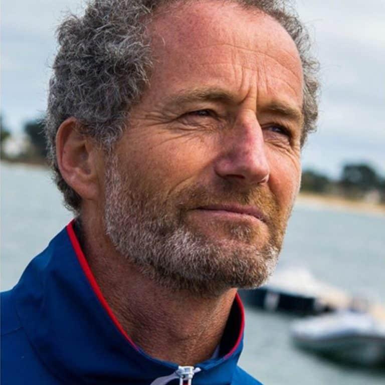 Michel Desjoyaux tests the Tiwal 3 Inflatable Sailing Dinghy