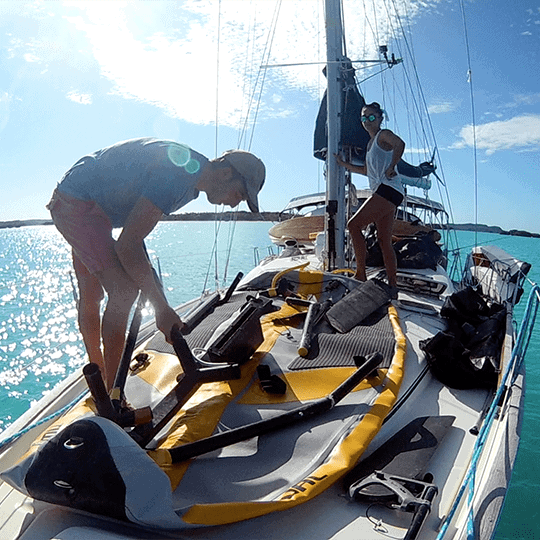 Tiwal on Beneteau 43