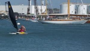 Tiwal test at the Anapolis Sailboat Show 2017