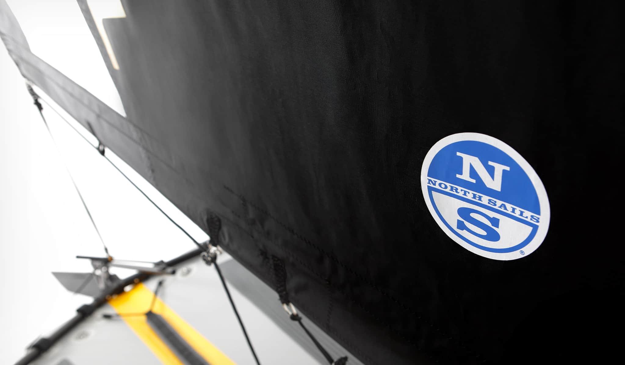Tiwal 3 Dacron & monofilm sails made by North Sails