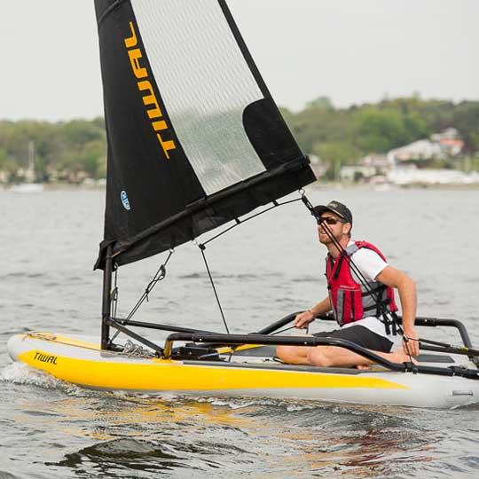 Tiwal test sail Newport USA