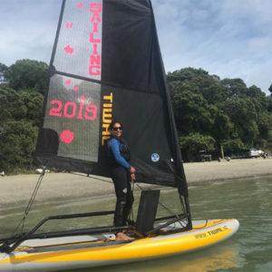 Sailing Tiwal 3 in New Zealand