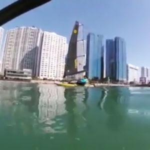 Tiwal 3 qui navigue en Corée du Sud