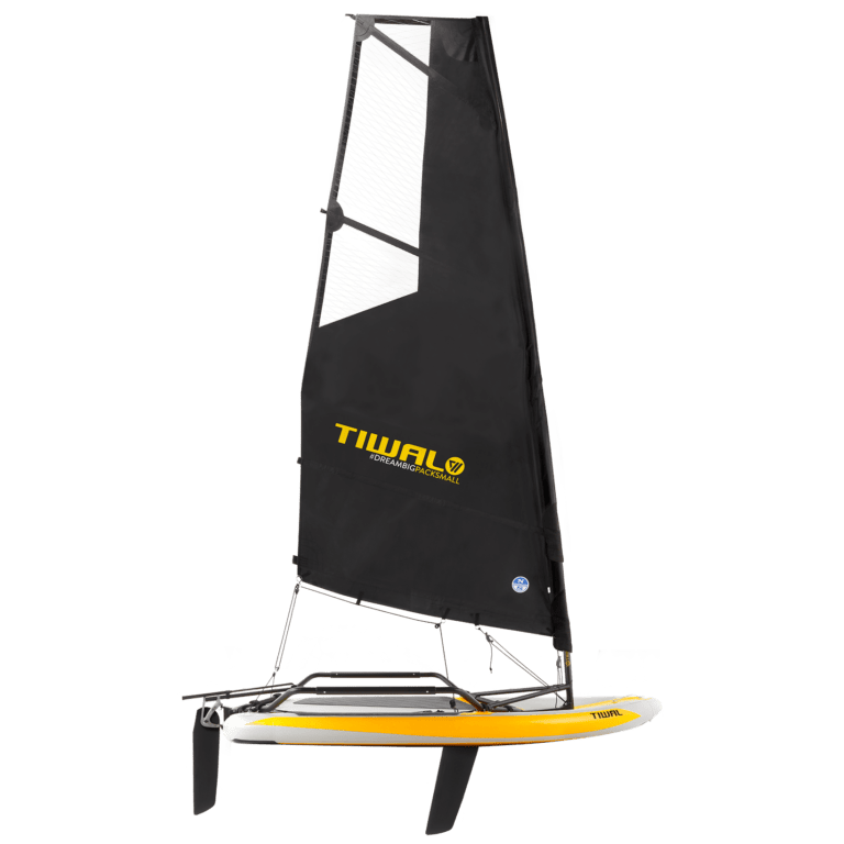 Tiwal 3 small sailboat with reefable sail no design