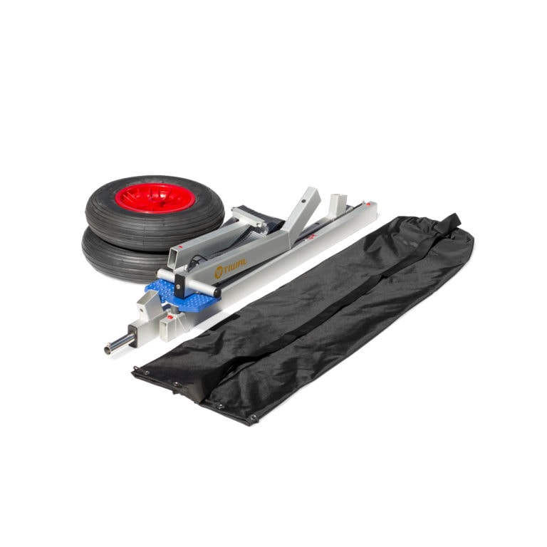 Sailboat Collapsible Beach Dolly Disassembled